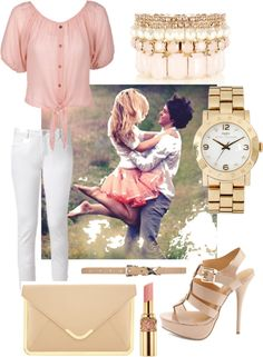 """""""summer date night"""" by andre-g ❤ liked on Polyvore"""