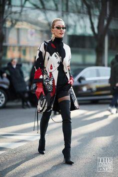 Le donne che hanno rubato la sfilata alla settimana della moda maschile di  Milano AW18 Estilo 72516a8b848