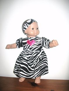 ccd9a079a Doll Clothes for 15 Inch Bitty Baby or Bitty Twin American Girl Baby Doll