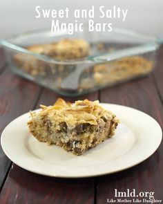 Love the combination of sweet and salt? These sweet and Salty Magic Bars arebetter than any other magic bar you've had before. #lmldfood