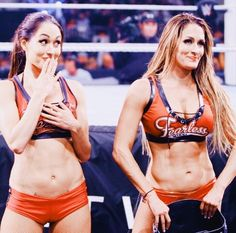 the only solution to wwe's current ratings crisis 😌 Nikki Bella Photos, Nikki And Brie Bella, Daniel Bryan, Brie Bella Wwe, Wwe Girls, Wwe Ladies, Famous Twins, Wrestling Divas, Wrestling Outfits
