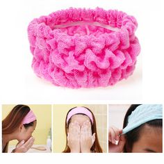 1Pcs Elastic Hair Rings For Shower Hair Bands Girl's Styling Tools Elastic Ring Hair Rope Tie Scrunchie Braiding Bath Accessory