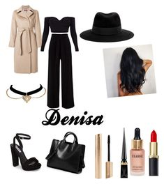"""""""Untitled #17"""" by jade2006 on Polyvore featuring MaxMara, Steve Madden, Maison Michel, Eloise and Christian Louboutin"""