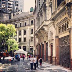 15 de Novembro street, Sao Paulo / Brazil