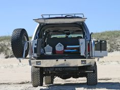 Aluminess - Ford Excursion Off Road Rear Bumper