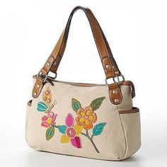 NWT RELIC Eisley Butterfly   Shopper Tote Medium ~~Butterfly #Relic #TotesShoppers