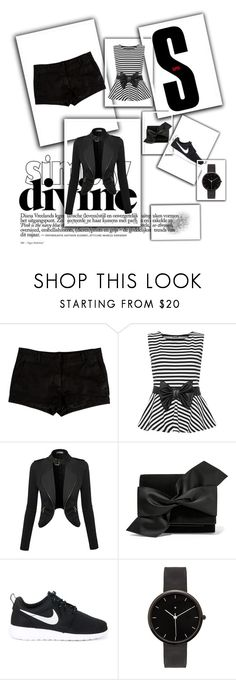 """Mall day"" by brandy-carringer ❤ liked on Polyvore featuring L'Agence, WearAll, Victoria Beckham, NIKE and I Love Ugly"