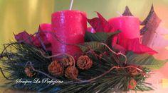 Christmas Pillar Candles, Christmas, Xmas, Navidad, Noel, Natal, Candles, Kerst