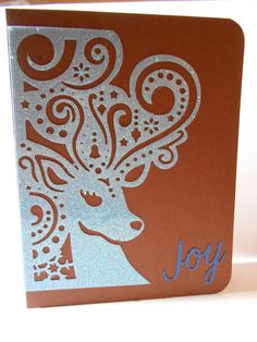 Holiday Greeting Card by susieqpapercreations on Etsy