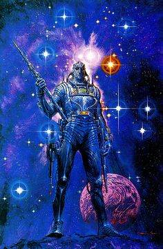 Weird and cool images I discover as I drift aimlessly through cyberspace. I like science fiction, fantasy, comics, vintage covers, posters and general weirdness. Arte Sci Fi, Arte Alien, Science Fiction Art, Science Art, Pulp Fiction, Space Fantasy, Sci Fi Fantasy, Fantasy Women, Arte Lowbrow