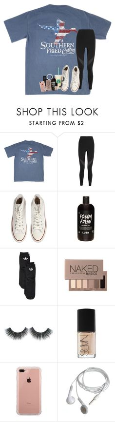 """""""are you with me? all the way."""" by lindsaygreys ❤ liked on Polyvore featuring NIKE, Converse, adidas, Urban Decay, NARS Cosmetics and Belkin"""