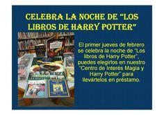 La noche de los libros de Harry Potter