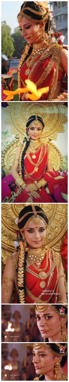 Totally over the top! But damn! Pooja Sharma in Draupadi look is just <3 <3 <3