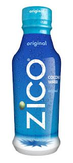 Zico Coconut Water, my fave of all the coconut waters except maybe a fresh cracked coconut from some vendor in kauaii