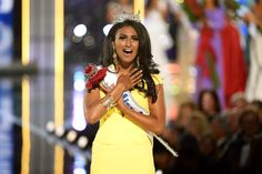 Congratulations to 2011 Michigan Alumna Nina Davuluri, who was crowned Miss America last night!   She is also the first Miss America winner of Indian descent. Congrats Nina - Wherever You Go, Go Blue! http://u-mich.me/1eVa5FR