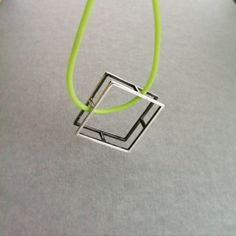 """""""Frame Me"""" Square Pendant - Frame Me Collection Jewelry Shop, Jewelry Collection, Contemporary, Pendant, Frame, Shopping, Picture Frame, Jewlery, Pendants"""