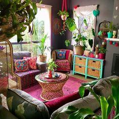 bohemian home Bohemian Furniture Ideas to Decorate Home Bohemian House, Boho Room, Boho Living Room, Living Room Decor, Bedroom Decor, Bohemian Style, Modern Bohemian, Bedroom Rustic, Vintage Bohemian