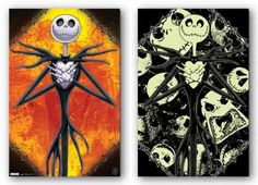 (22x34) Nightmare Before Christmas Movie Scary Glow in the Dark Poster Poster Print, 22x34 by Generic, http://www.amazon.com/dp/B005J67WZG/ref=cm_sw_r_pi_dp_etA-rb0QBWE19