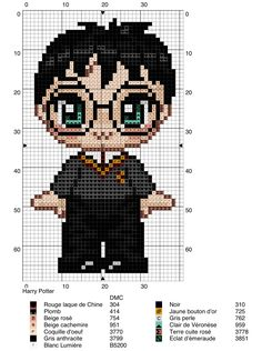 Embroidered Harry Potter