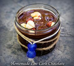 homemade low carb chocolate
