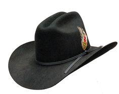 USA Cowboy Hat Missouri Black