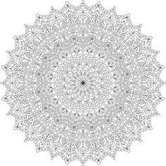 Warm Soul Mandala Coloring Page By Varda K. - (mondaymandala)