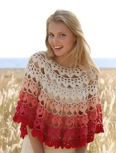 Ponchos for Women   Vote for the new DROPS collection! ~ Go have a look! Some patterns are ...