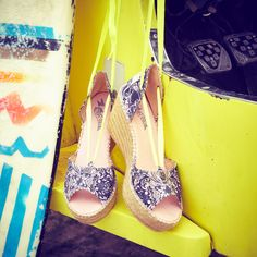 Odd Molly SS16   Made in Love    Spring and summer shoes   Shoe collection   High heel multi espadrillos   www.oddmolly.com