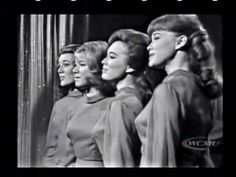 The Lennon Sisters - 1964 Lawrence Welk Much Music, 70s Music, The Lawrence Welk Show, The Lennon Sisters, Andy Williams, Oldies But Goodies, Popular Music, Great Love, Family Love