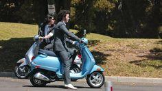 Modern Vespa : Celebrity Scooters
