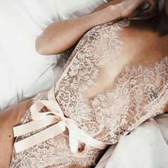 White lace nighty suit