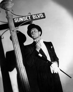 """William Holden in """"Sunset Blvd."""""""
