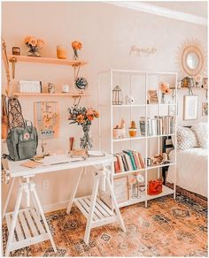 Cute Bedroom Decor, Room Design Bedroom, Room Ideas Bedroom, Bedroom Inspo, Cozy Room, Aesthetic Bedroom, Dream Rooms, House Rooms, Girl Room