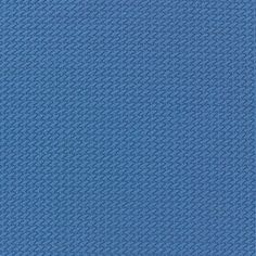 Tissu Lycra gaufré bleu x 10cm