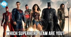 Which Superhero Team Are You? | BrainFall