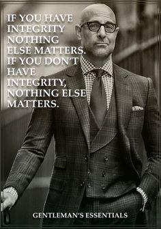 Integrity     www.gentlemans-essentials.com