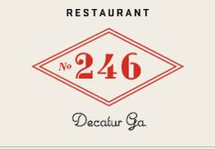 no246 | Decatur GA Great restaurant!