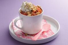 Red Hot Apple Pie in a Cup Recipe | Hungry Girl  3 SP (5p+)
