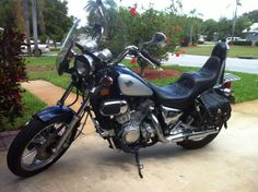 1996 Kawasaki Vulcan 750.  2150.  18k Miles.  I fell in love and bought it :) :)