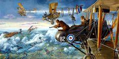 Hell or High Water, by James Dietz (R.A.F. FE2b vs Albatros D.V of Jasta 2 'Boelcke')