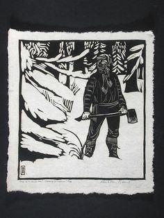 Wharton Esherick, Song of the Broad Axe, Beauty of Woodsmen