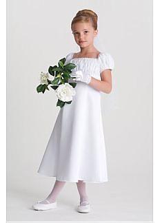 Brand New  Custom-made Lovely Flower Girl Dress With Top Quality