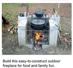 Easy outdoor cooker/griller