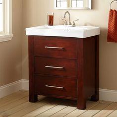 "30"" Morey Vanity Cabinet - Oak - Wood Vanities - Bathroom Vanities - Bathroom"