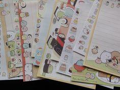 San-X Sumikko Gurashi Sushi Memo Note Paper Stationery kawaii cute pad gift sale