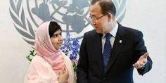 Malala parla all'ONU. Piccola grande donna coraggiosa [FOTO] - http://www.lavika.it/2013/07/malala-onu/