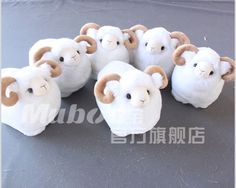 Lovely #cute #plush #toy goat