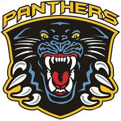 Nottingham Panthers - Hockey Sports Embroidery Logo in 4 sizes - Coventry Blaze, Pantera Logo, Nottingham Panthers, Panthers Hockey, Hockey Logos, Sports Logos, Hockey Cakes, Nottingham Forest, Basketball Leagues