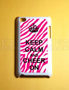 I love the pink zebra and the quote!