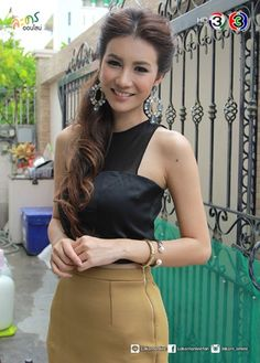 Thai Drama, Leather Skirt, Skirts, Fashion, Moda, Fashion Styles, Leather Skirts, Fashion Illustrations, Fashion Models